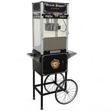 16 oz Deluxe Home Theater Popcorn Machine With Cart