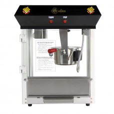 4 oz Deluxe Home Theater Popcorn Machine - Black