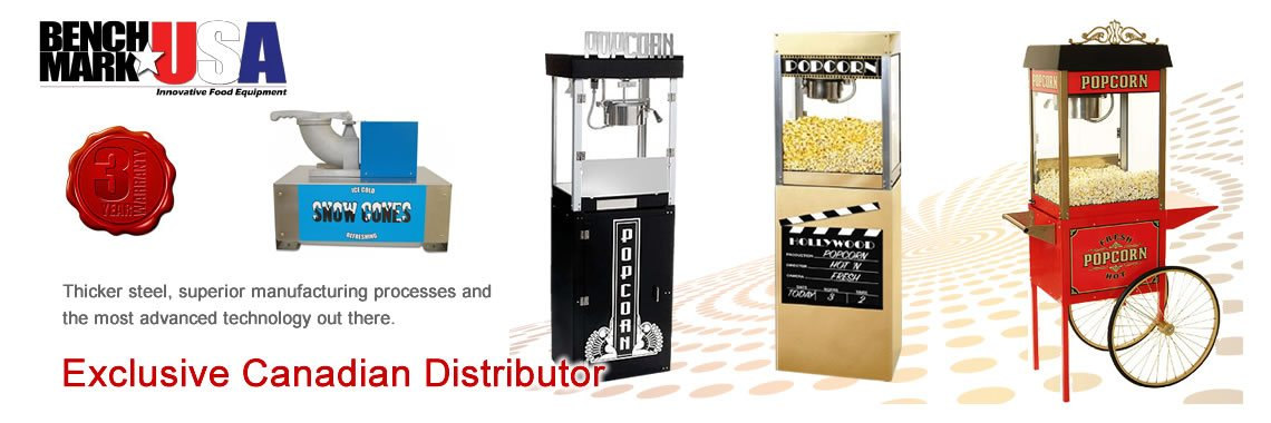 Benchmark Distributor - - HTD Canada - Canada Popcorn Company
