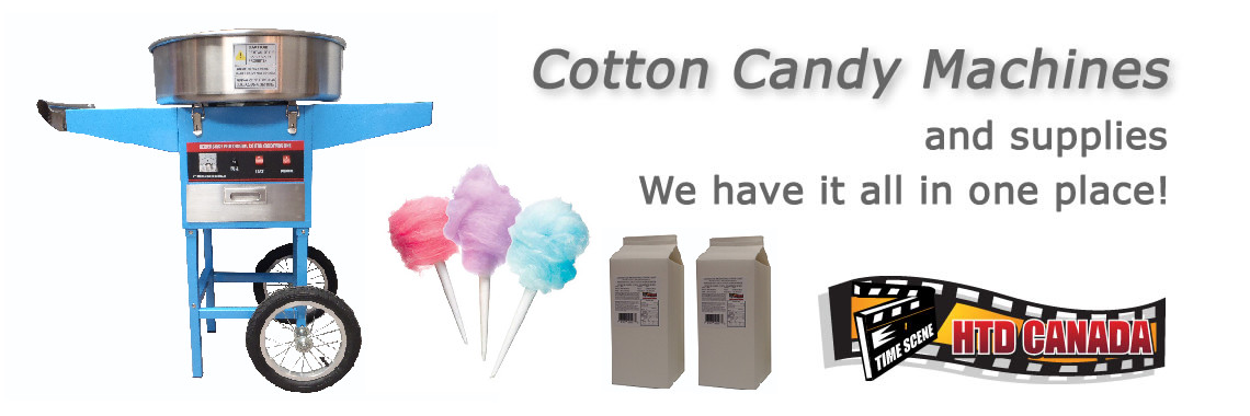 Cotton Candy and Supplies