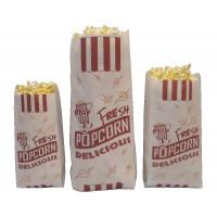 Bulk Paper Popcorn Bags - Small Superior Grade