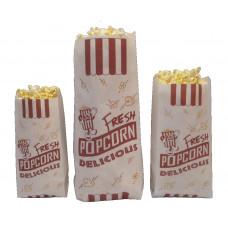 Bulk Paper Popcorn Bags - Large Superior Grade