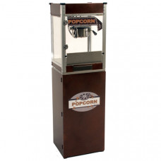 4 oz Cineplex Theater Popcorn Machine with Pedestal - Copper
