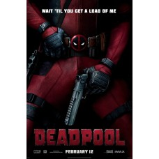 Deadpool Movie Poster 27 x 40
