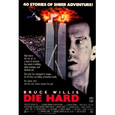 Diehard Movie Poster 27 x 40