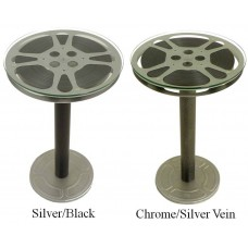 Steel Reel End Table - 12