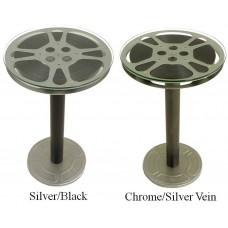 Steel Reel End Table - 12