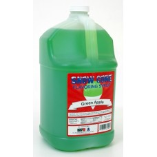 Snow Cone Syrup Green Apple