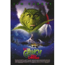 How the Grinch Stole Christmas Movie Poster 27 x 40
