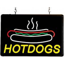 LED Hotdog sign