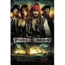 Pirates of the Caribbean On Stranger Tides Movie Poster 27 x 40