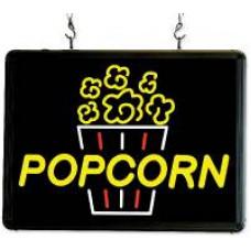 LED Popcorn Sign