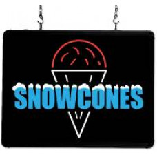 LED Snowcone Sign