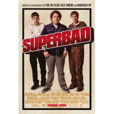 Superbad Movie Poster 27 x 40