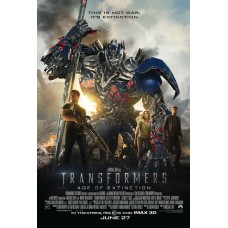 Transformers Age of Extinction Movie Poster 27 x 40