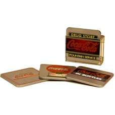 Coca Cola Coaster Set