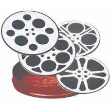 Movie Reel Coaster Set