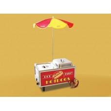 Hotdog Mini Serving Cart Steamer