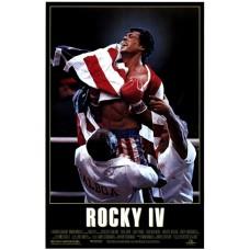 Rocky 4 Movie Poster 27 x 40