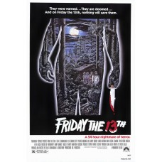 Friday the 13th Movie Poster 27 x 40