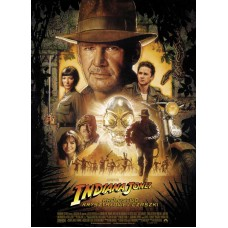 Indiana Jones and the Kingdom of the Crystal Skull Movie Poster 27 x 40