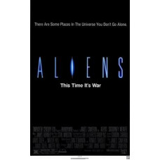 Aliens Movie Poster 27 x 40
