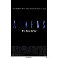 Aliens Movie Poster 27 x 40
