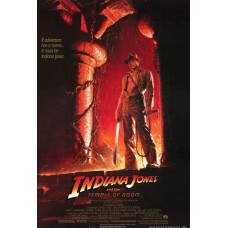 Indiana Jones and the Temple of Doom Movie Poster 27 x 40