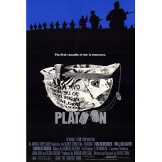 Platoon Movie Poster 27 x 40