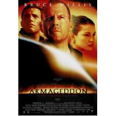 Armageddon Movie Poster 27 x 40