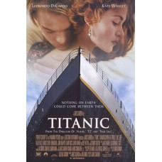 Titanic Movie Poster 27 x 40