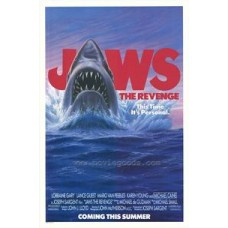 Jaws Movie Poster 27 x 40