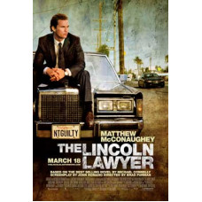 The Lincoln Lawyer Movie Poster 27 x 40