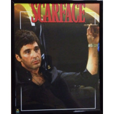 Scarface Framed Picture (S4)