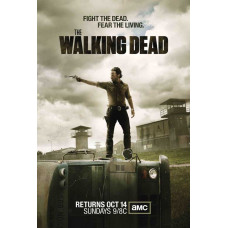 The Walking dead - Prison Movie Poster 27 x 40