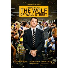 The Wolf of Wall Street Movie Poster 27 x 40
