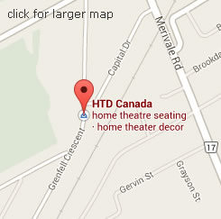 HTD Canada on the map